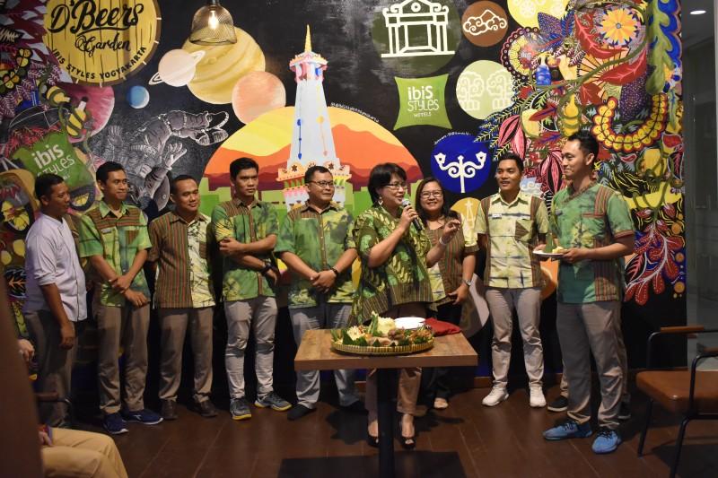 Ibis Style Yogyakarta Luncurkan D'Beers Garden