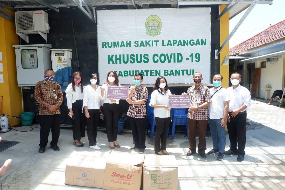Donasi Bersama Bantu Pasien Covid-19