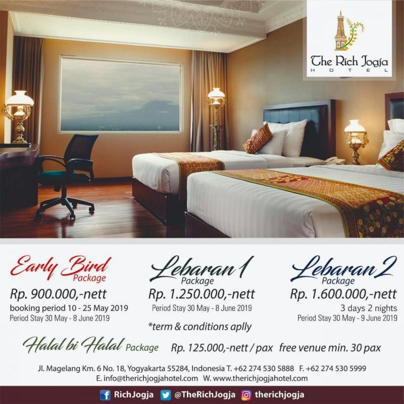 Menikmati Suasana Lebaran Di The Rich Jogja Hotel