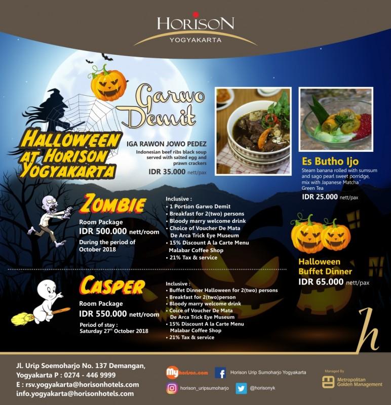 Horison Urip Sumoharjo Yogyakarta Rayakan Halloween