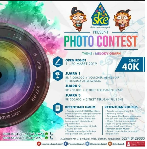Sindu Kusuma Edupark Yogyakarta Selenggarakan Photo Contest