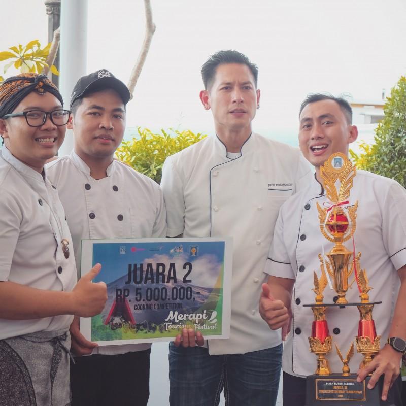 Harper Mangkubumi Yogyakarta Mendapatkan Gelar Juara dalam Ajang Cooking Competition Merapi Tourism Festival 2018